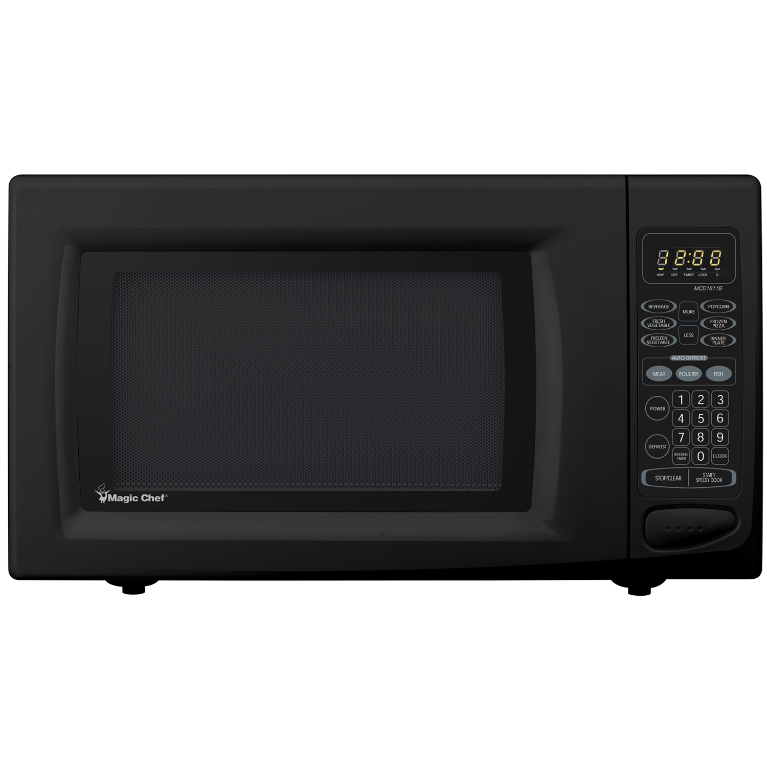 mca homefast and efficient countertop microwave